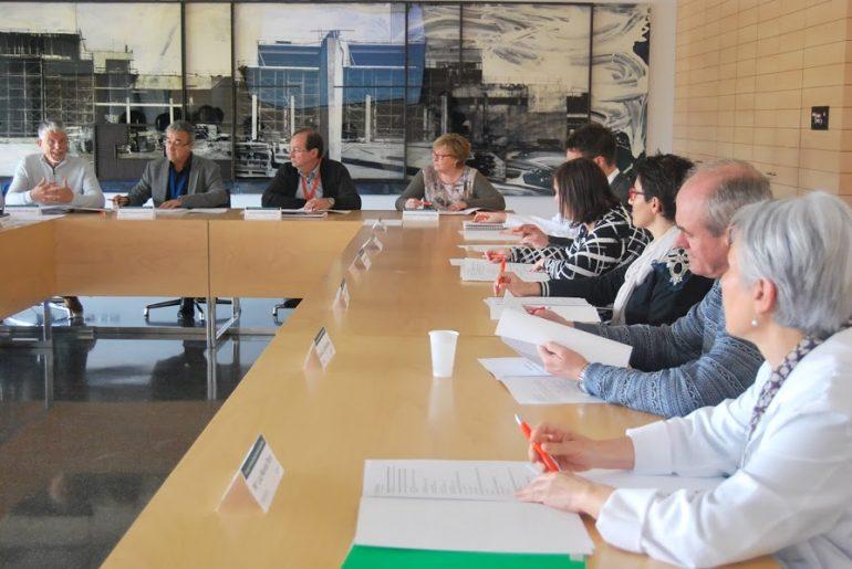 Reunión del Consejo de Salud  en el Hospital de Dénia