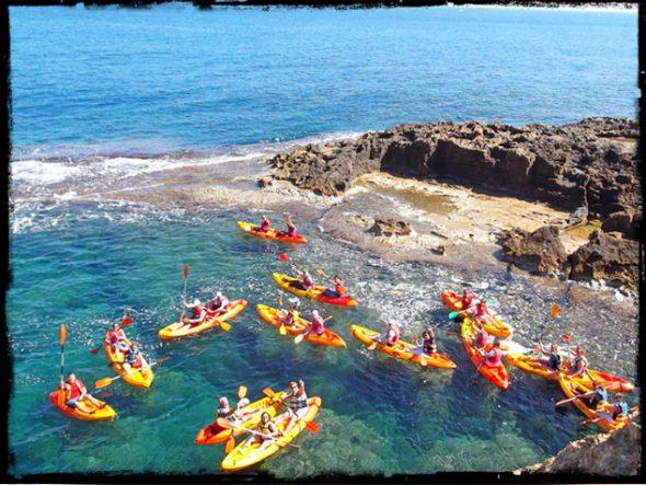 Ruta en kayak a la Cova Tallà