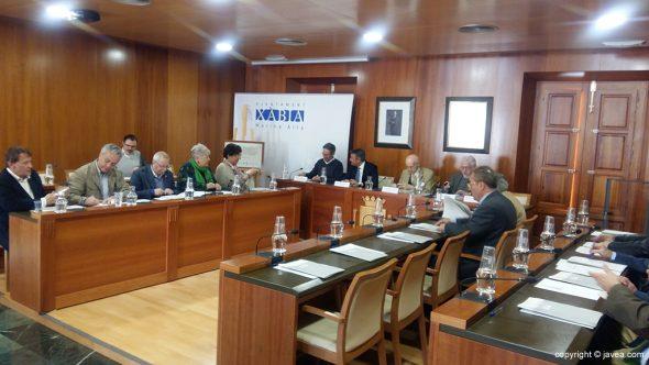 Sesión extraordinaria del Consell Valencià de Cultura en Xàbia