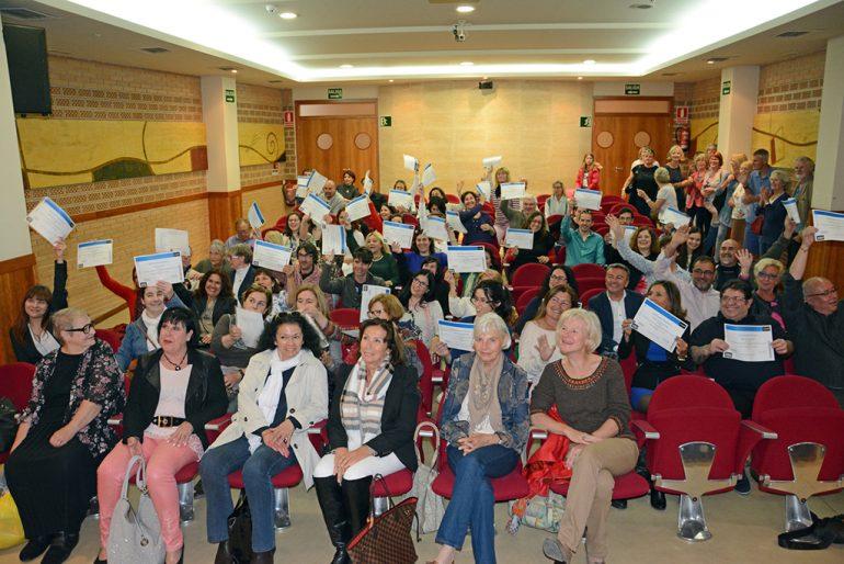 Alumnos de los cursos de idiomas de Creama Xàbia