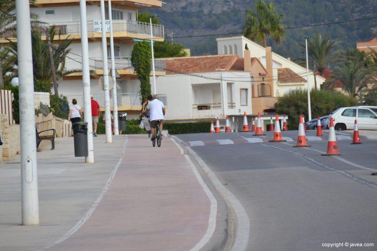 Carril bici Xàbia