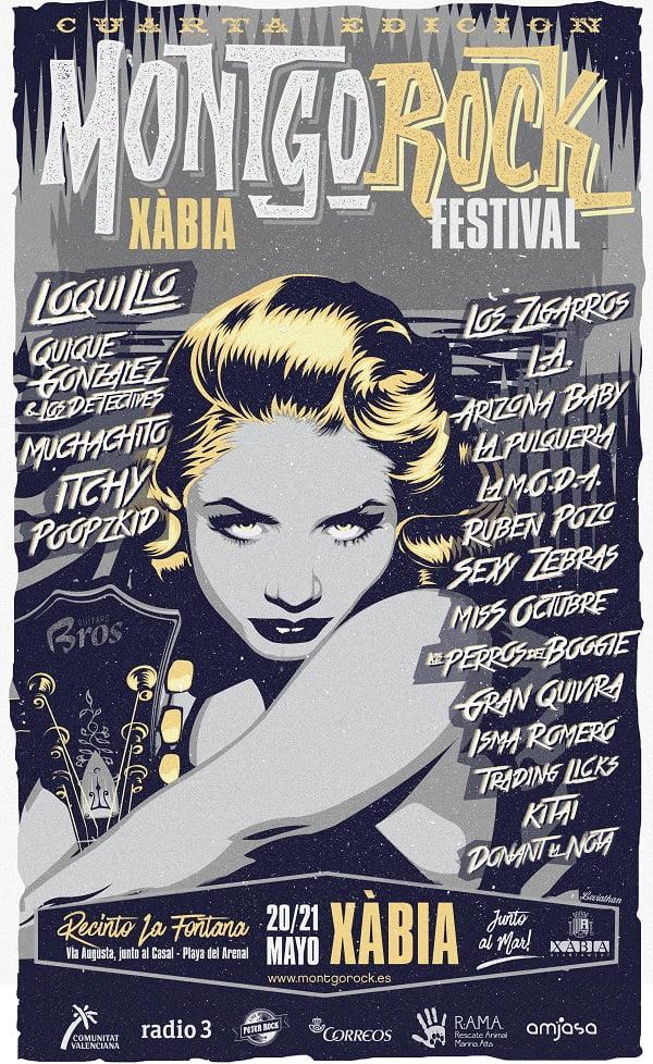 Cartel definitivo del Montgorock Festival