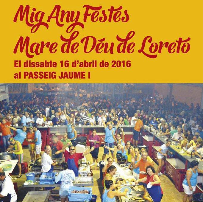 Cartel  Mig Any Festes Loreto 2016