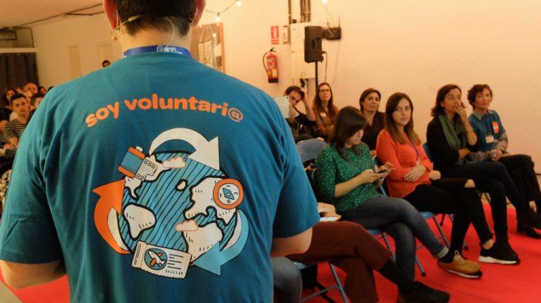 Conferencia de voluntarios