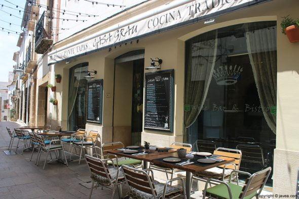 Exterior Restaurante Casa Grau