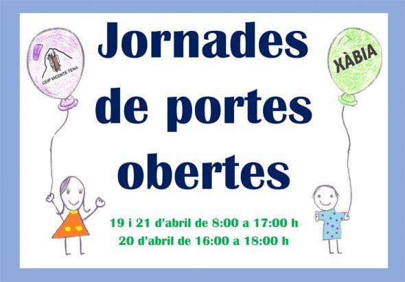 Jornada de puertas abiertas en el colegio Vicente Tena