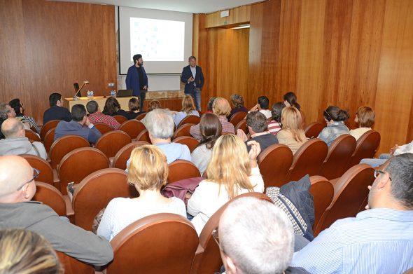 José Chulvi en la reunión abierta EDUSI