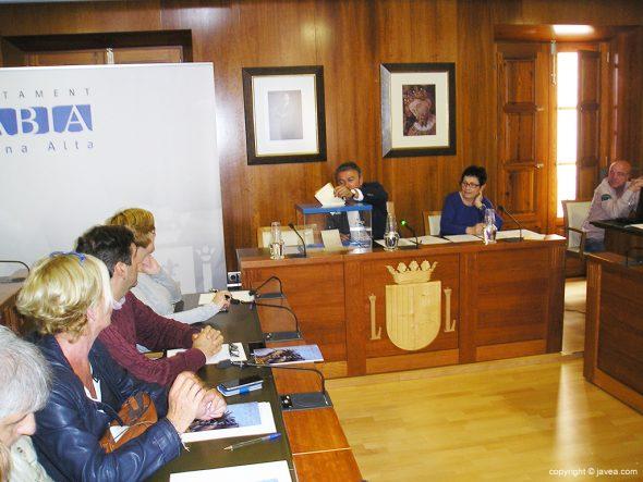 José Chulvi votando