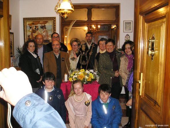 Mayorales en casa de Gabriel Sapena