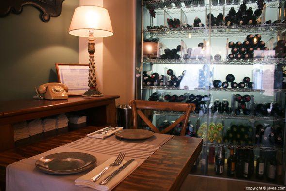 Mesa Restaurante Casa Grau