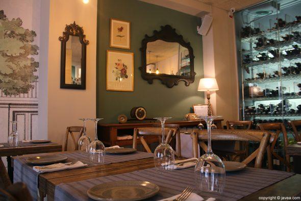 Mesas Restaurante Casa Grau
