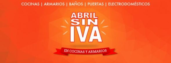 Oferta Abril sin IVA Cocina Fácil
