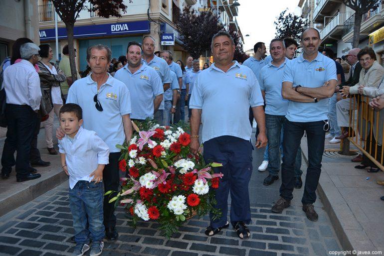 Ofrenda de flores al Nazareno de Xàbia