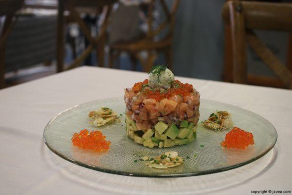 Plato Restaurante Casa Grau
