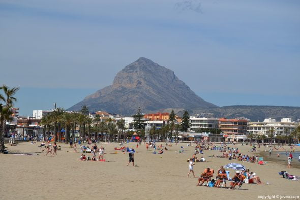 Playa javiense del Arenal