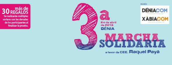 3ª Marcha Solidaria a Favor del Raquel Payà