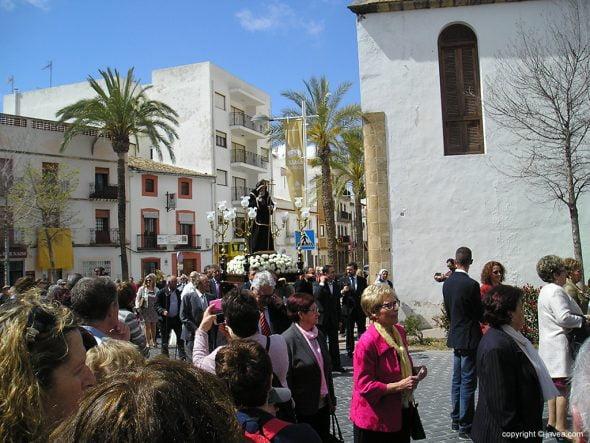 Procesión de San Francisco de Paula en Xàbia