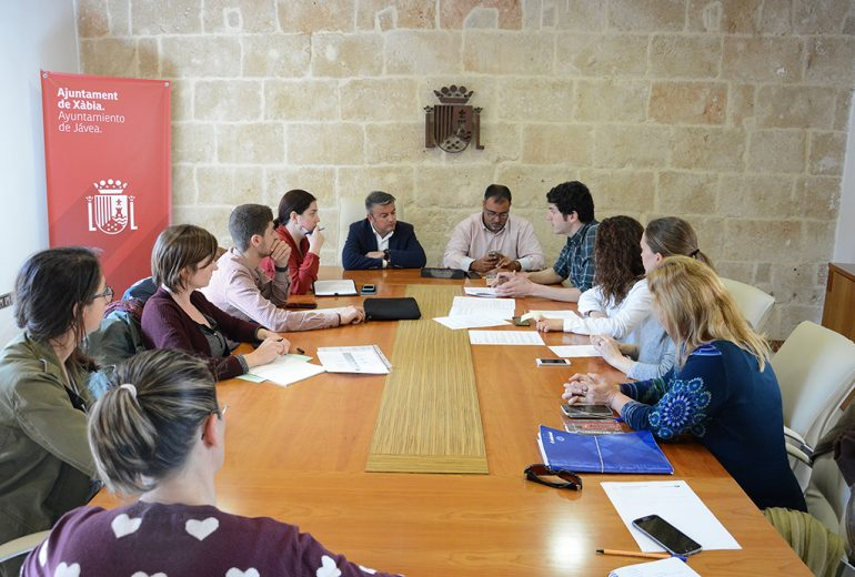Reunión del grupo de trabajo del Programa Fent Xàbia