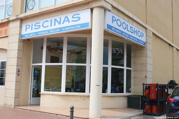 The Pool Shop entrada