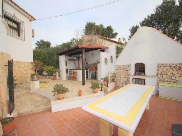Amplia terraza Atina Inmobiliaria