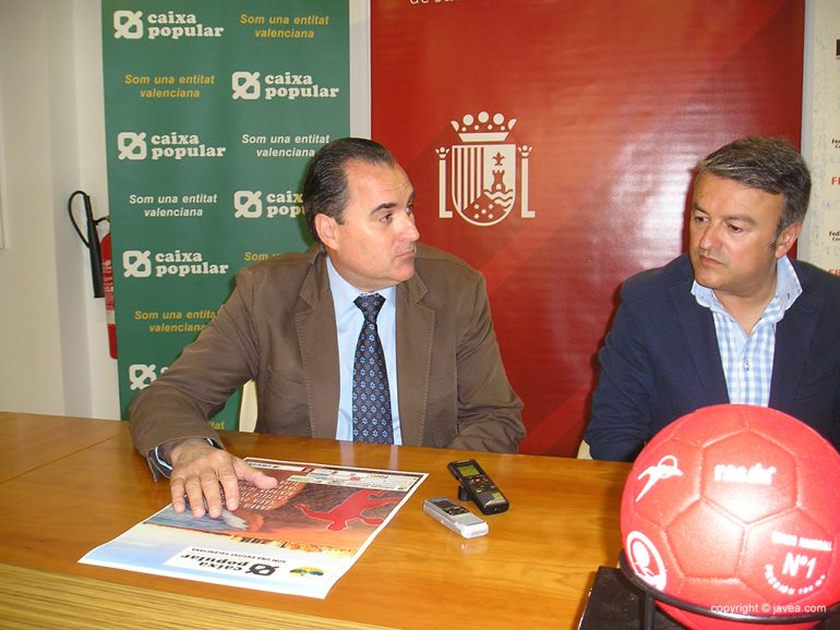 Arturo Tejedor junto a José Chulvi