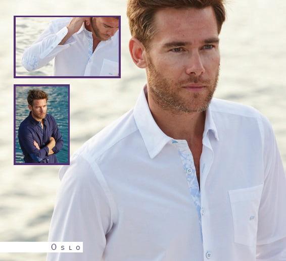 Camisas Oslo de Infinity Jewellery & Gentleman