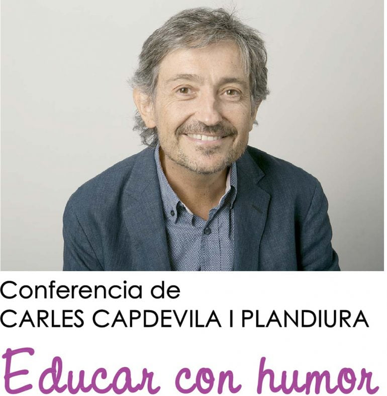 Cartel conferencia de Carles Capdevila