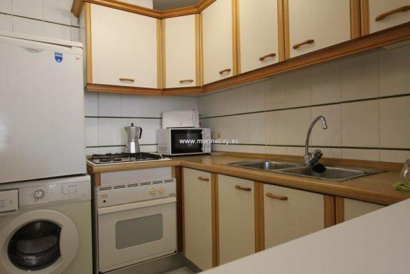 Cocina del apartamento AP0725- MarinaBay Homes
