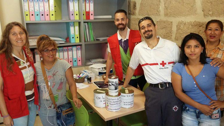 Voluntarios en la colecta Xabia-Ecuador