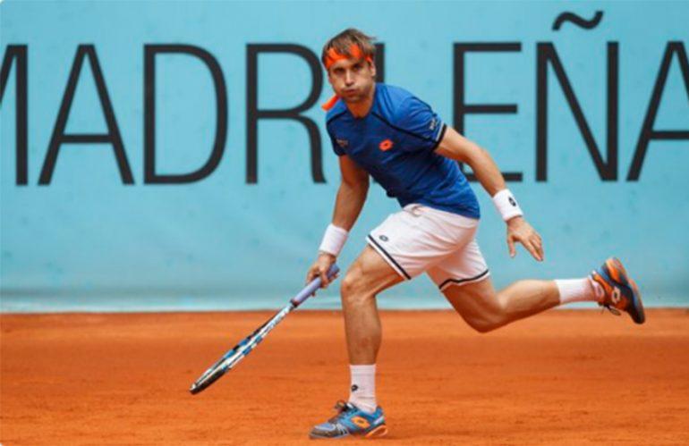 David Ferrer en el Mutua Madrid Open