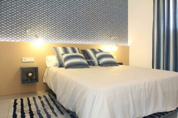Dormitorio azul - CHA0667 MarinaBay Homes