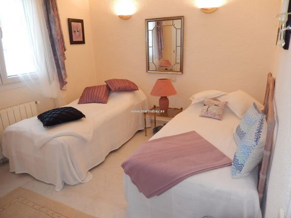 Dormitorio dos camas CHA0723 - MarinaBay Homes