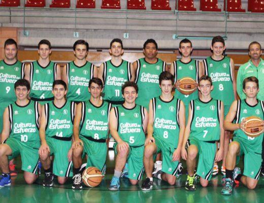 Equipo Junior del CB Joventut Xàbia