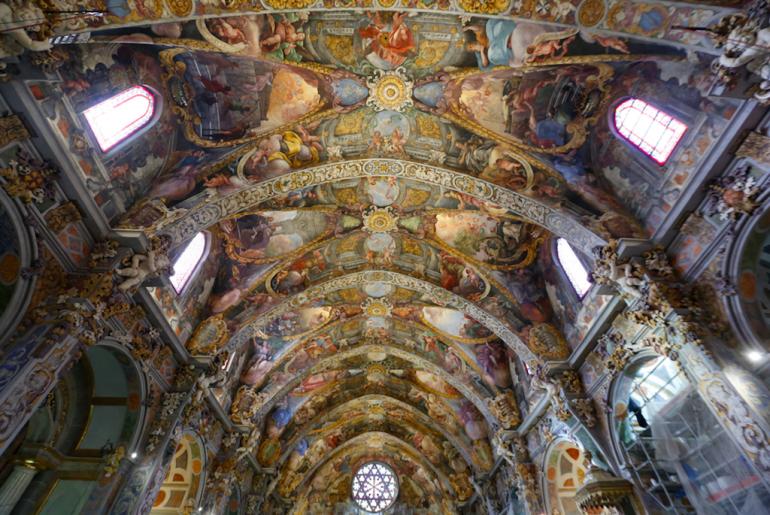 Frescos de la iglesia San Nicolás de Valencia