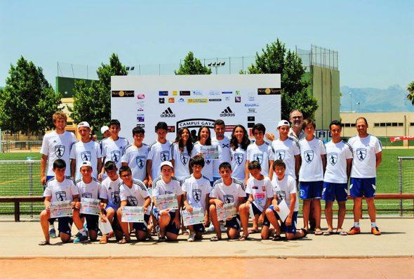 Grupo alumnos del Campus Gayá 2015