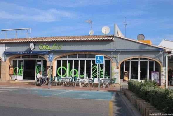 Cafetería Heladería Olas