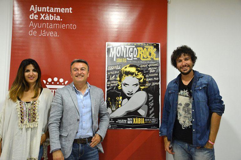 José Chulvi junto a Josan Serrano y Mari Cruz Gisbert