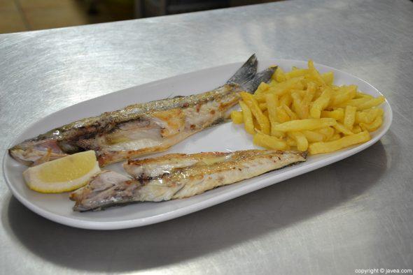 La Cantina de Jávea pescado