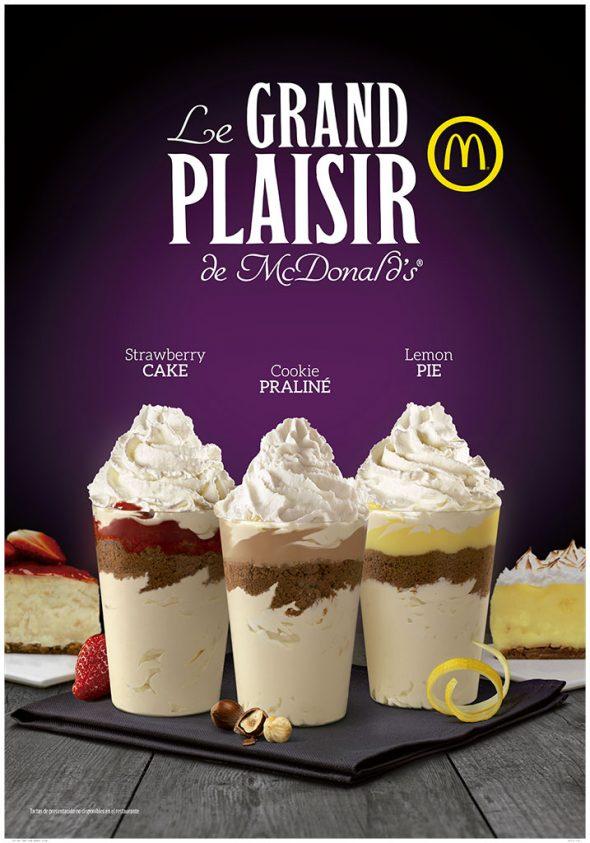 Nuevos productos en McDonald's