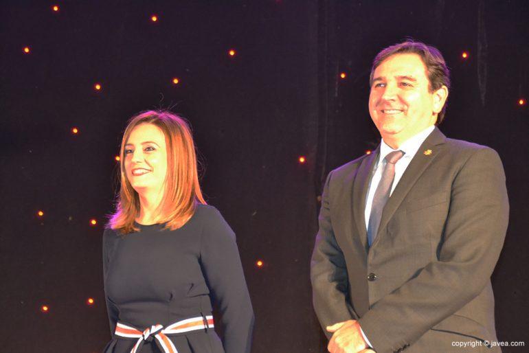 Mavi Pérez y Antonio Miragall