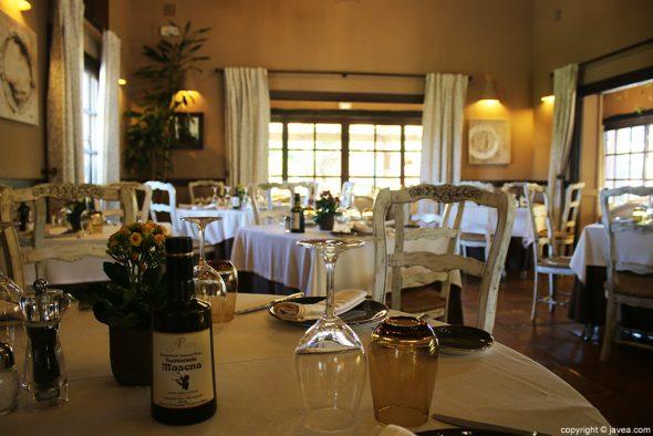 Mesa Restaurante Masena