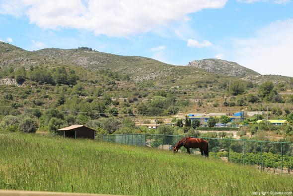 Paisaje Restaurante Vall de Cavall