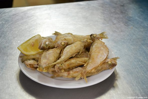 Pescaito frito La Cantina de Jávea