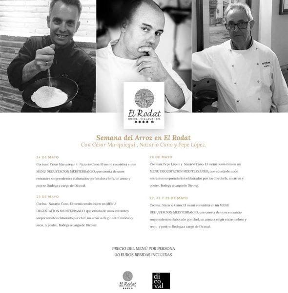 Semana del Arroz Hotel Restaurante El Rodat, La Galería de Nazario Cano