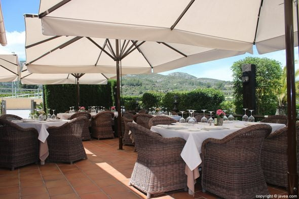 Terraza Restaurante Vall de Cavall