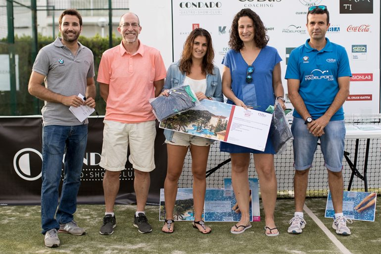 Campeonas del Torneo Pádel Xàbia
