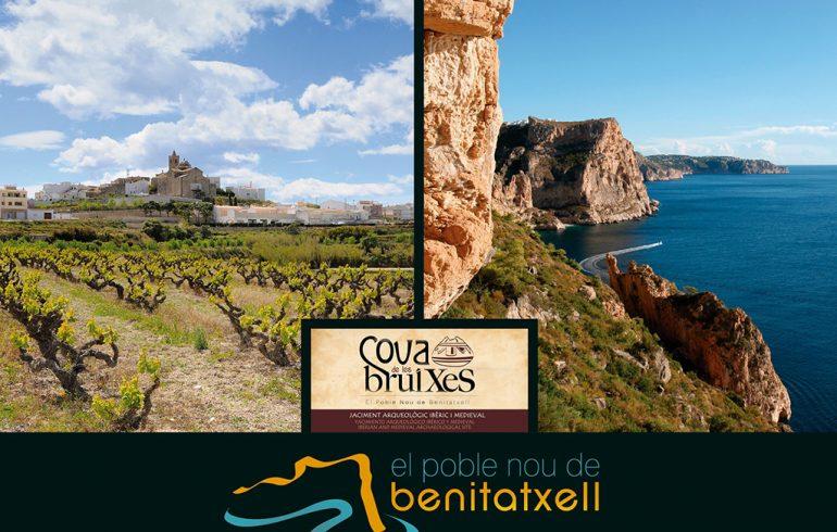 Cartel de las rutas de Turismo de Benitatxell