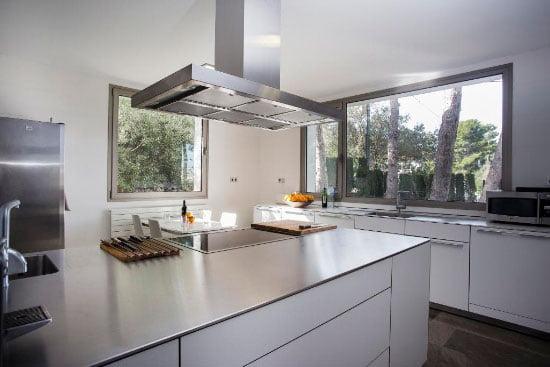 Cocina moderna Aguila Rent a Villa