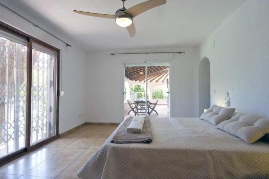 Dormitorio de la casa Yuca Aguila Rent a Villa