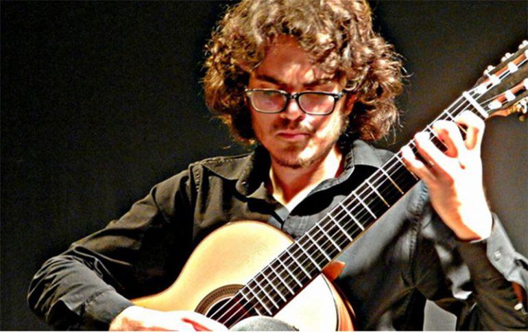 El guitarrista Darío González Ivars